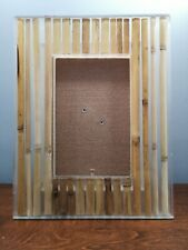 Bamboo picture frame 4x6 hand cast in Thailand