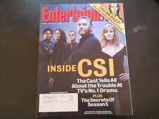 William Peterson, CSI, Joan Rivers - Entertainment Weekly Magazine 2004