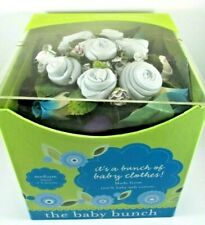 "New ""Its a Bunch Of Baby Clothes"" (Boy Blue) Bouquet By The Baby Bunch 0-6 Month"
