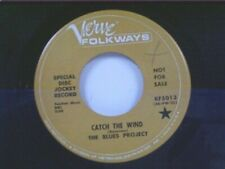 "BLUES PROJECT ""CATCH THE WIND / I WANT TO BE YOUR DRIVER"" 45 NEAR MINT PROMO"