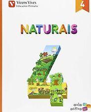(G).(15).CIENCIAS NATURAIS 4ºPRIM.(AULA ACTIVA) GALICIA. ENVÍO URGENTE (ESPAÑA)