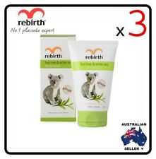 [ Rebirth ] 3 x REBIRTH TEA TREE & WHITE TEA FACIAL WASH (RB34) SIZE 100ML