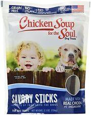 Chicken Soup for the Pet Lovers Soul Savory Sticks Dog Treat 5.5OZ FREE SHIP USA