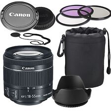 Canon EF-S 18-55mm f/4-5.6 IS STM Lens (White Box)