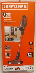 Craftsman V20 Cordless Stick Vacuum Cleaner - Black/Red