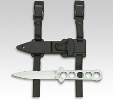 """LINDER GERMAN DIVER'S KNIFE w. SERRATED BACK / 4.33"""" BLADE / DIVING SCUBA"""
