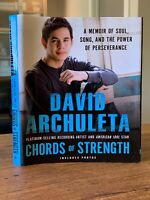 Chords Of Strength by David Archuleta  Hardcover book 2010 * SIGNED * LDS MORMON