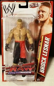 WWE Brock Lesnar Basic Series 25 Mattel Action Figure First Time In The Line