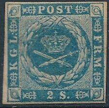 [37478] Denmark 1854/64 Good classical stamp Fine/VF MH