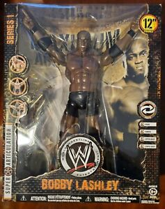 "WWE Maximum Aggression Bobby Lashley 12"" wrestling figure Hurt Business - New"