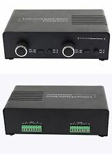 2 Pair Speaker Selector Switch with volume level control & 2 Amp capability 100W