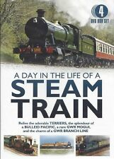 Day In The Life Of A Steam Train TERRIERS BULLIED PACIFIC GWR MOGUL BRANCH LINE