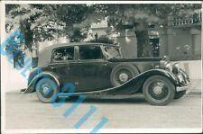 1930's Rolls Royce 20/25  Car dealers Stock Photo 6.5 x 4.25 inches