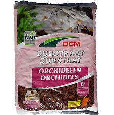 Substrat pour Orchidées, sac de 8 litres, prêt à l'emploi, DCM