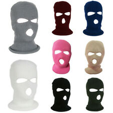Unisex Outdoor Acrylic Hat Ski Face Cover Balaclava Full Face Knitted Beanie US