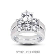 1.81ct E-VS1 Rund Natürlich Zertifiziert Diamanten 18k Klassisch Passende Braut
