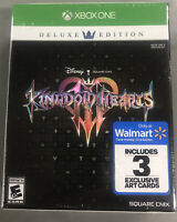 Kingdom Hearts 3 Deluxe Edition Xbox One Brand New Factory Sealed
