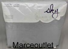 Sky 500 Thread Count Pima Cotton King Duvet Cover & Shams Set Gray