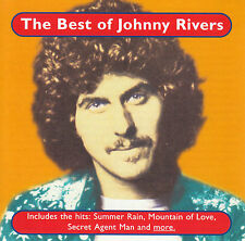 JOHNNY RIVERS - THE BEST OF CD ~ SECRET AGENT MAN ++++ 70's GREATEST HITS *NEW*
