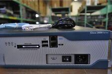 Cisco 2821 Router IOS 15.1, CME 8.5, 1GBD/256F, CISCO2821 2801 2811 2851
