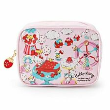 SANRIO HELLO KITTY STRAWBERRY PARTY SERIES MAKE UP COSMETIC BAG 257257A