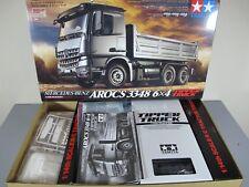 New Tamiya 1/14 R/C Mercedes Benz Arocs 3348 6X4 Semi Tipper Tractor Truck 56357