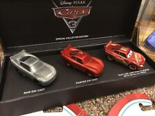 CARS 3 SDCC 2017 MAKING OF LIGHTNING McQUEEN EXCLUSIVE - Mattel Disney Pixar