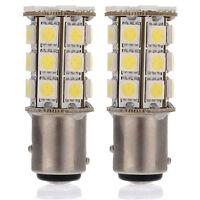 1157 White BAY15D P21/5W 27SMD 5050 Car 12V LED Tail Brake Light Bulb Lamp New