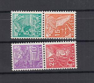 1934 NABA senkrecht Zusammenhängende  sauber postfrisch ** Kat CHF 450.-