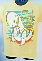 Rare All Time Low Concert Tour Graphic T-Shirt Yellow Size M