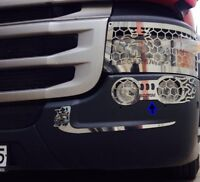 Scania 4/ R/P/G Series Chrome Fog Lİght Cage Stainless Steel