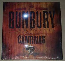 BUNBURY DOBLE VINILO + CD LICENCIADO CANTINAS NUEVO HEROES DEL SILENCIO