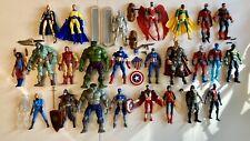 Marvel Legends AVENGERS 26 FIGURE LOT Captain America Hulk Skaar Silver Surfer +