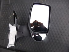 FORD TRANSIT NEW SHORT ARM MANUAL O/S DRIVERS SIDE DOOR MIRROR 2000 TO 2014