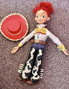 DISNEYLAND Disney Pixar Toy Story Jessie doll Pull Draw String Talking Figure