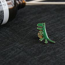 1pc Green Dinosaur Brooch Jeans Shirt Cloth Bag Brooch Pin
