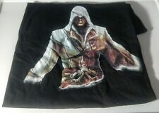 new Assassin's Creed T Shirt Size Large L Black Graphic Tee PS3 PS4 XBOX 360 ONE