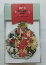 Pop Up Ornament Cards - Dogs - 8 Pack - Christmas - Pop Greetings