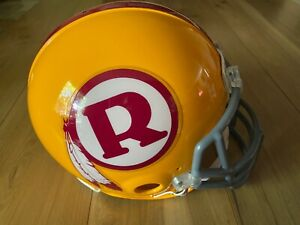 Washington Redskins Riddell NFL Authentic THROWBACK Helmet Full size **RARE**