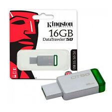 Pendrive 16GB Kingston 16 GB USB 3.0 3.1 - DT50/16GB