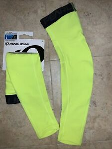 Pearl Izumi Bright Yellow/Green Thermal Arm Warmer Unisex Large NEW with tags