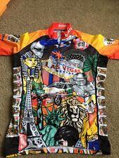 Gizmo Cycling Riding Bicycle Shirt Las Vegas Sz.Men Small