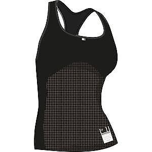 Madison Isoler mesh women's sleeveless baselayer, black size 8 - 10 black