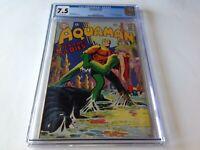 AQUAMAN 37 CGC 7.5 MERA COVER 1ST SCAVENGER DC COMICS