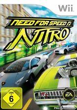 Nintendo Wii + Wii U Need for Speed Nitro * Deutsch guterzust.