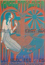 1960s Amsterdam Vondelpark Love in flower power Netherlands advertisement print