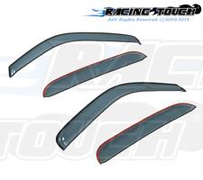 Chevrolet Sonic Hatchback 12-16 Ash Grey Out-Channel Window Visor Sun Guard 4pcs