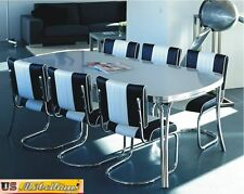 to-28 Bel Air Diner cucina tavolo da conferenza con 6 SEDIE CINQUANTA stile