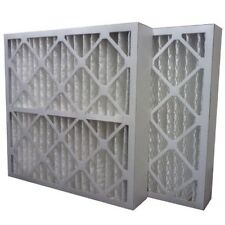 (3) Filters 16x25x4 Merv 13 Furnace Air Conditioner Filter - Made in Usa