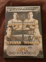 UFC 65: Bad Intentions DVD LIKE NEW, FREE SHIPPING!